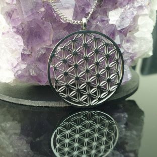 5G PROTECTION - Flower of Life Sacred Geometry Pendant